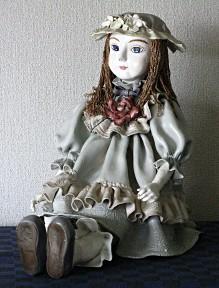 粘土人形(酒蔵を守る女神)