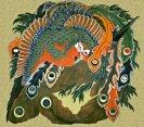 岩松院 北斎の八方睨み鳳凰図の天井画