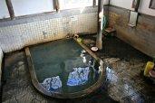 竹瓦温泉の風呂場