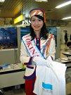 ミス・沖縄と札幌で