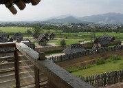 物見櫓から見た集落