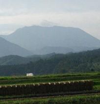 日本海北側からの大山