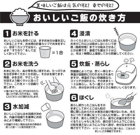 炊き 方 美味しい 米 の お