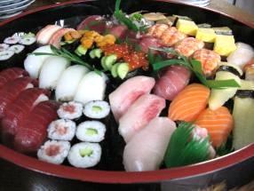 出前の寿司