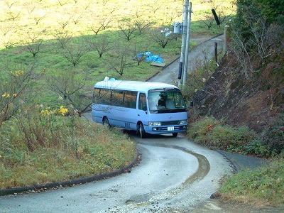 ひかり園のマイクロバス