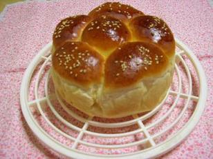 栗入り仲良しパン