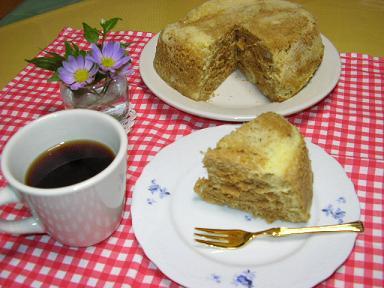 珈琲蒸しパン