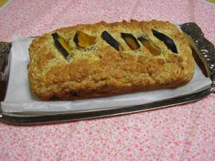 豆腐&バナナのパンプキンケーキ
