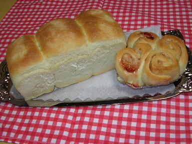 ミニ食パン&ジャムロール