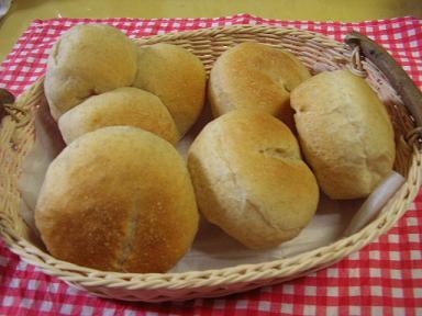 グラハム丸パン