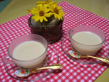 豆乳ジンジャーゼリー