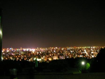 旭山記念公園夜景