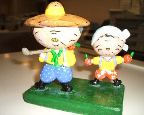 爺さん・婆さん人形