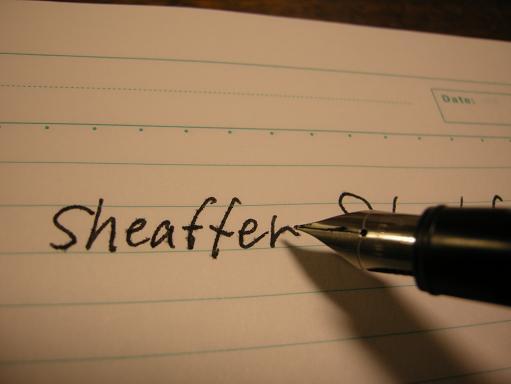 sheaffer S write.JPG