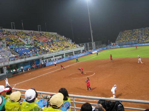 北京五輪女子ソフト決勝2