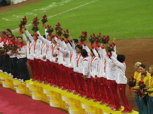 北京五輪女子ソフト決勝5