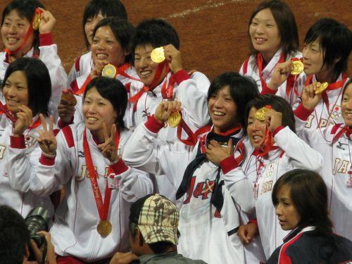 北京五輪女子ソフト決勝8