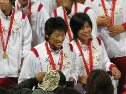 北京五輪女子ソフト決勝9