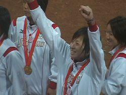 北京五輪女子ソフト決勝12