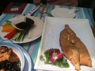 百合素食の北京ダック
