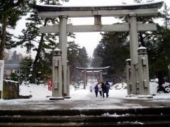 岩木山神社参道☆