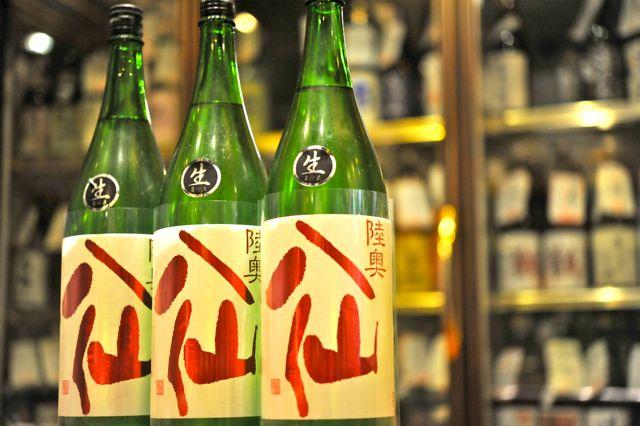 陸奥八仙 特別純米無濾過生原酒 赤ラベル