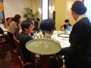 日本酒の会(萬珍楼本店)