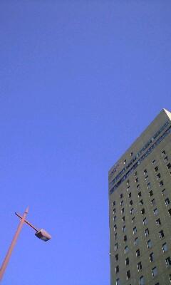 20100925朝の空