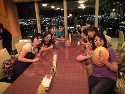 2010年7月15日熊本ホテル勤務スタッフによる乙女の会ビア