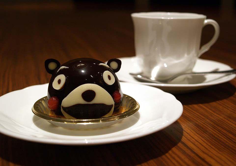 ちいさくて可愛い「くまモンケーキ」☆