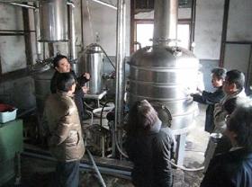 焼酎の醗酵タンク