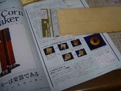 081028手作りウッド・コーン・スピーカ計画.JPG