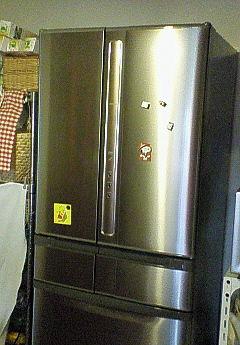 新しい冷蔵庫!