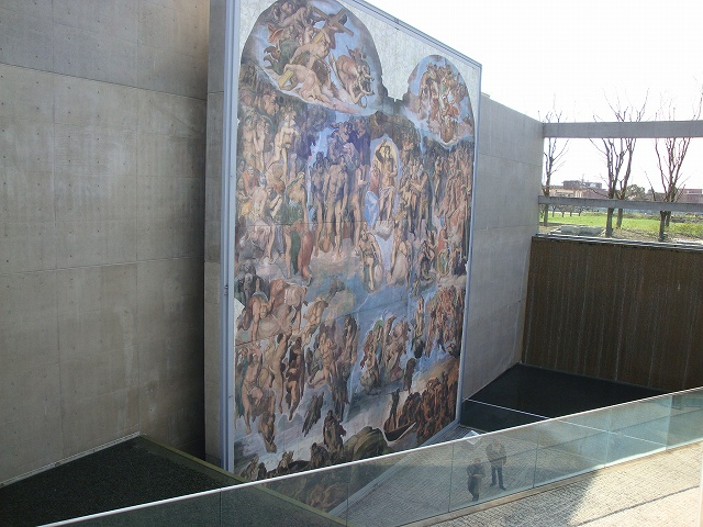 陶板名画の庭02