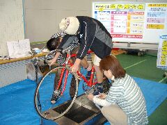 プロ使用の自転車