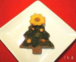 クリスマスツリーサブレ