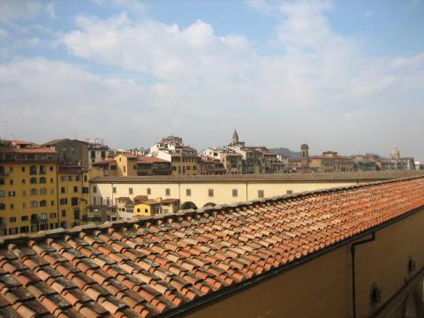 ヴァザーリの回廊とポンテベッキオ