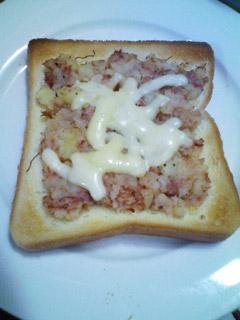 ジャーマンポテト風トースト