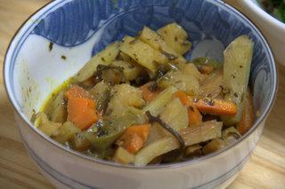 あまり野菜の塩昆布