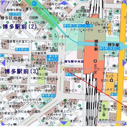 博多駅バス停