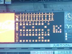 福岡ドーム(4.29)結果