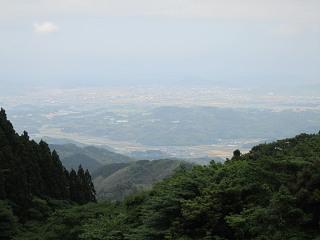 白糸の滝風景