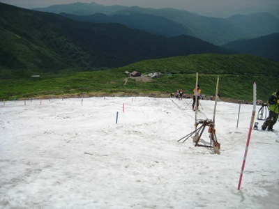 2009月山 4回目 トレーニングバーン.JPG
