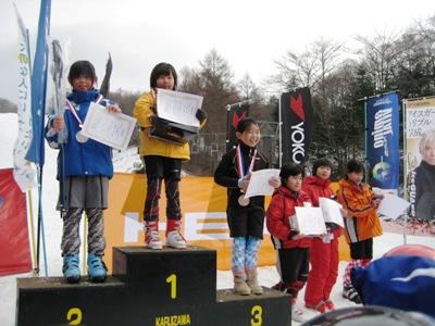 第6回ICIジュニアアルペン 表彰式