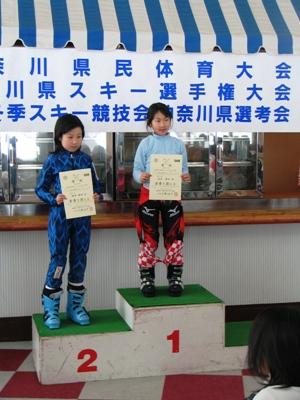 2009神奈川ジュニア2戦 SL表彰台