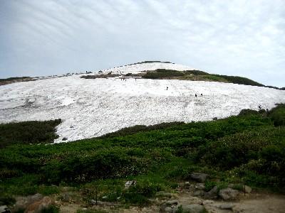 2009月山3回目 姥沢休憩所前から姥が岳.JPG