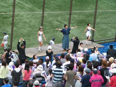 2009六大学野球春リーグ 応援風景.jpg