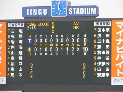 2009六大学野球春リーグ 試合結果.jpg