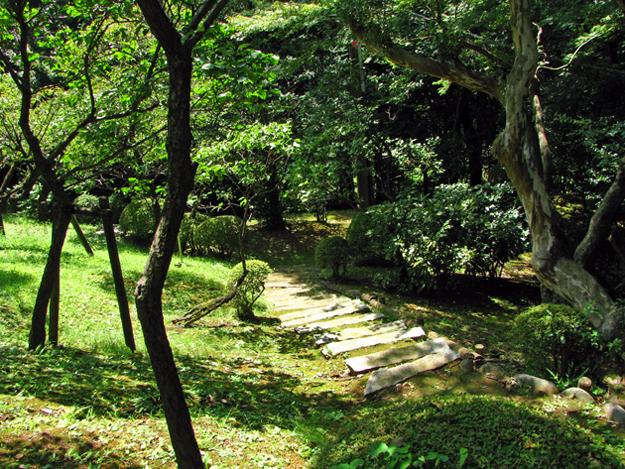 静嘉堂庭園