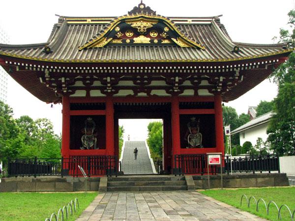 旧台徳院霊廟惣門☆港区芝公園